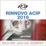 Rinnovo ACIP 2016