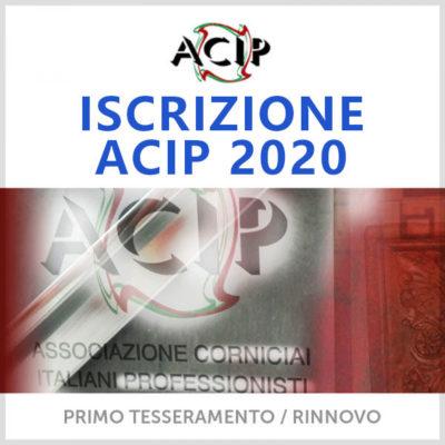 Iscrizione ACIP 2020